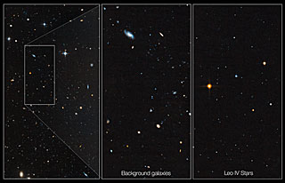 Hubble probes 'ghost' galaxy