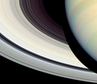 Detail of Saturn's Rings, Disk and Shadow | ESA/Hubble