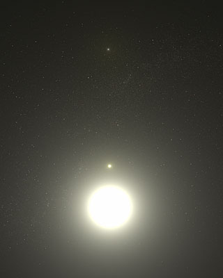 Artist's Concept of Polaris System