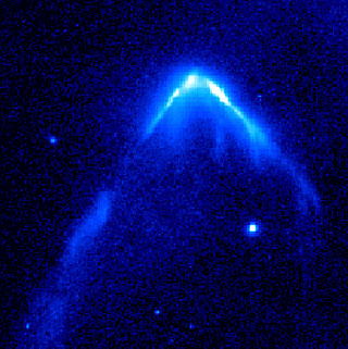 Hubble Image of Stellar Bow Shock (2 of 4)
