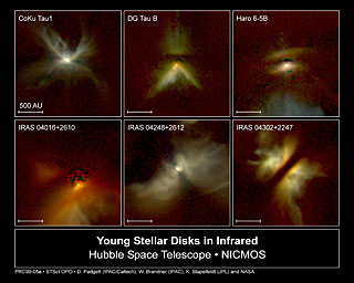 NICMOS Peers Through Dust to Reveal Young Stellar Disks