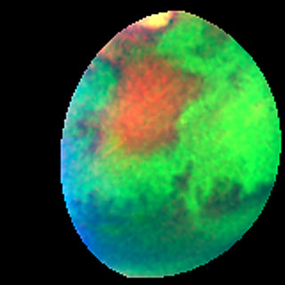 Martian colours Provide Clues About Martian Water (Hubble NICMOS View)