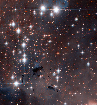 Stellar powerhouses in the Eagle Nebula
