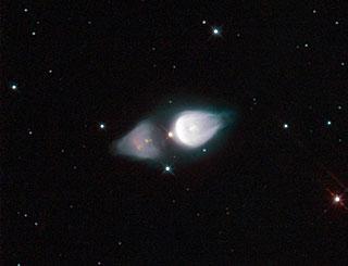 Rare Cosmic Footprint