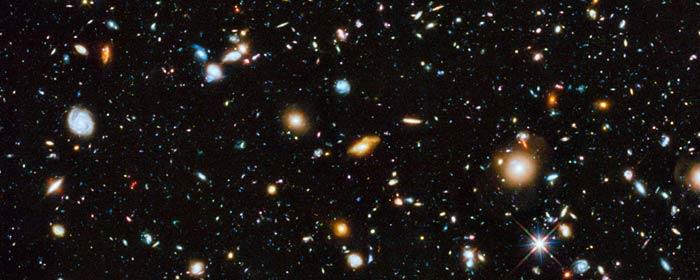 Hubbles farverige univers
