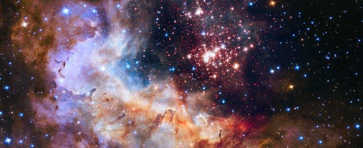 Hubble 25års jubilæum foto af Westerund 2 tågen