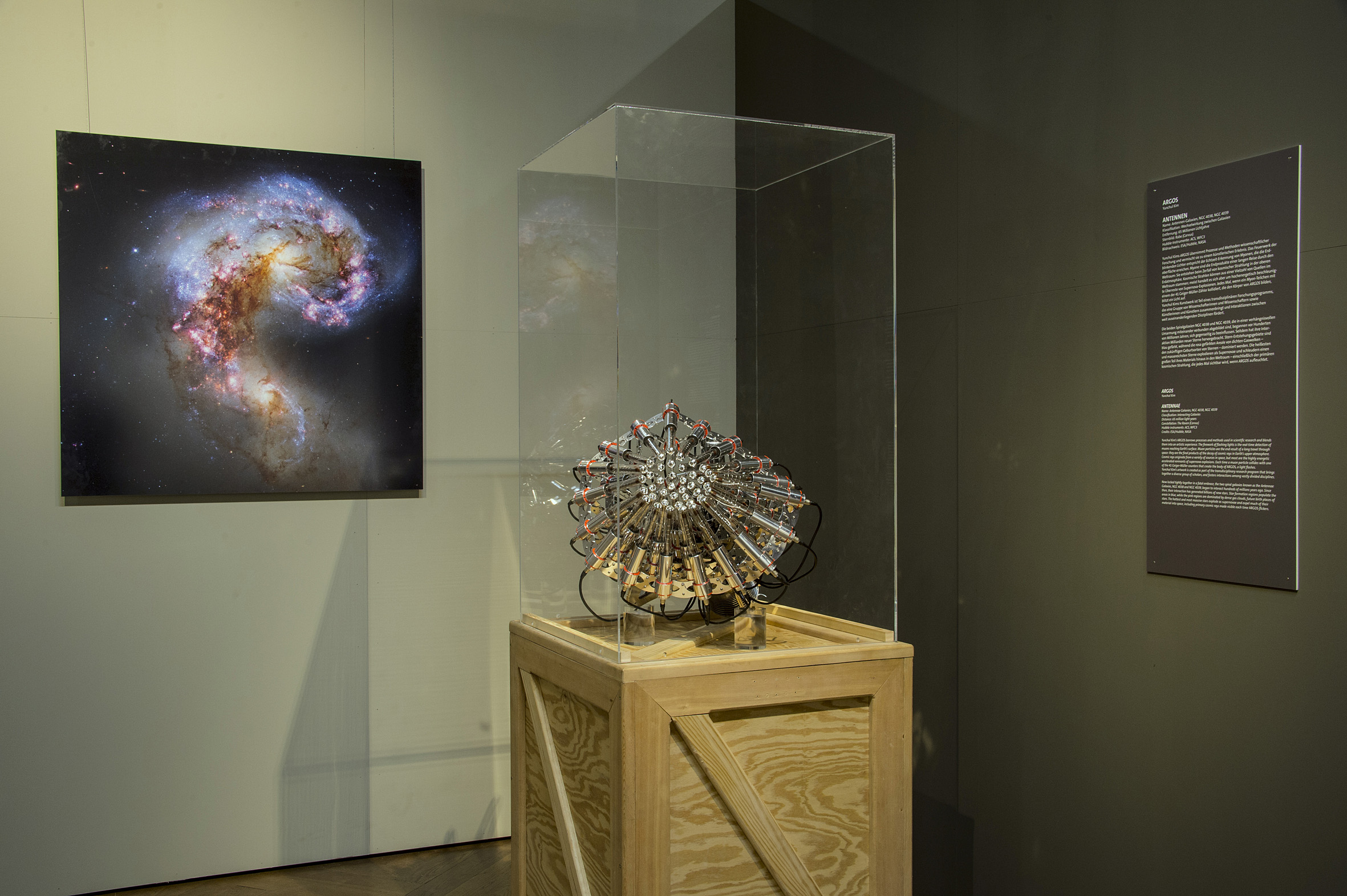 Exhibition Light D Model : Cosmic light esa hubble
