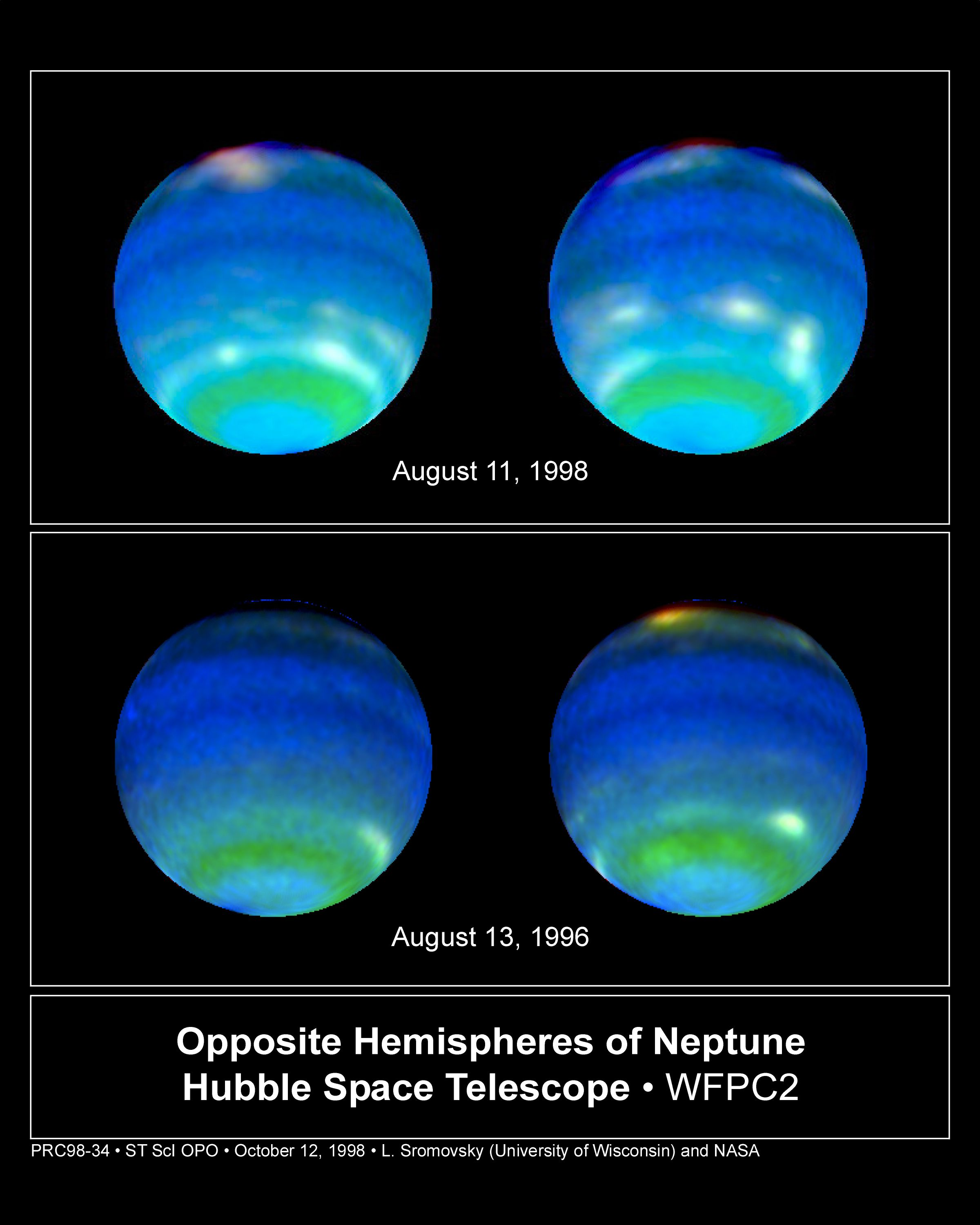 Giant, Extremely Bright Storm System Spotted in Neptune's Atmosphere