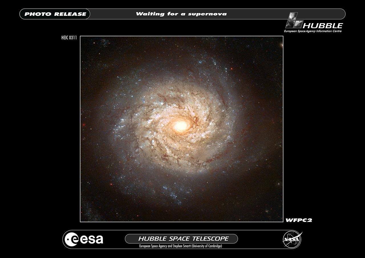 Galaxy NGC 3982 | ESA/Hubble