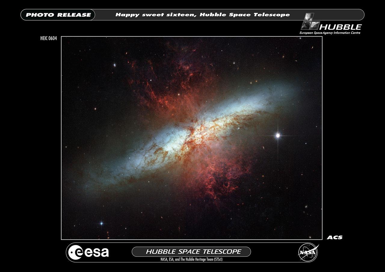 the magnificent starburst galaxy - photo #8