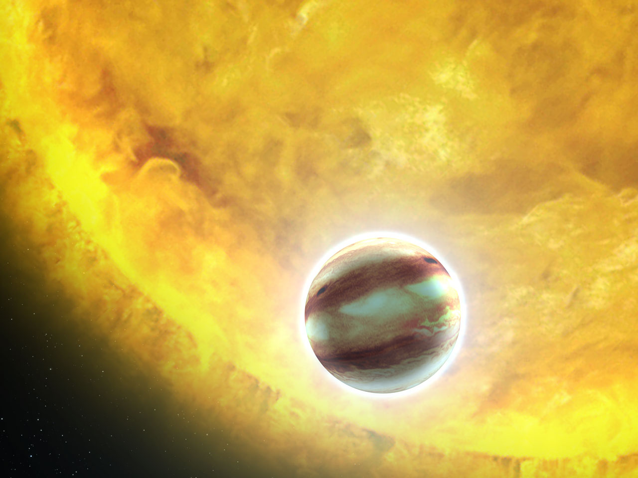 NASA / ESA / G. Bacon (STScI)