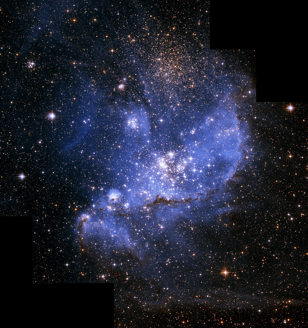 star of a pic from hubble - photo #17