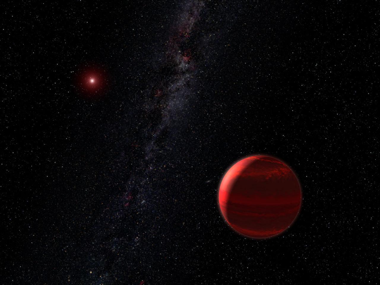Red dwarf star size