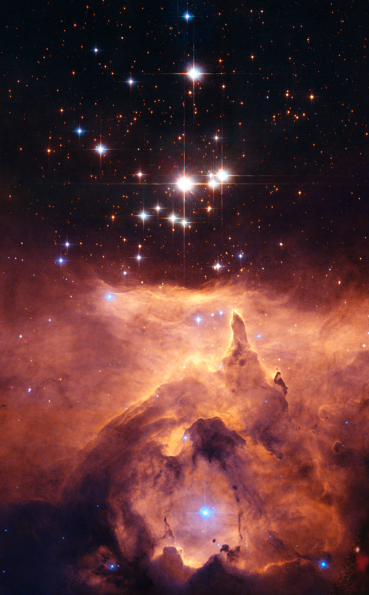 star of a pic from hubble - photo #11