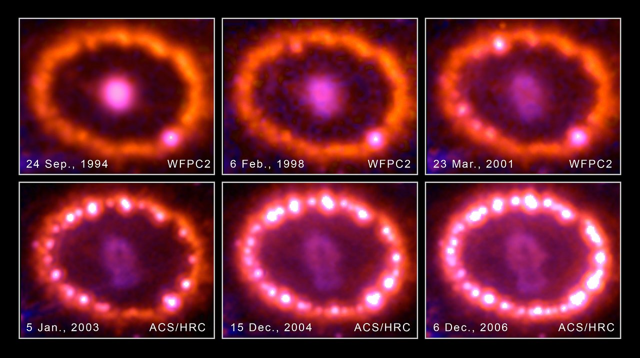 APOD: The Mysterious Rings of Supernova 1987A (2012 Feb 26) - Starship Asterisk*