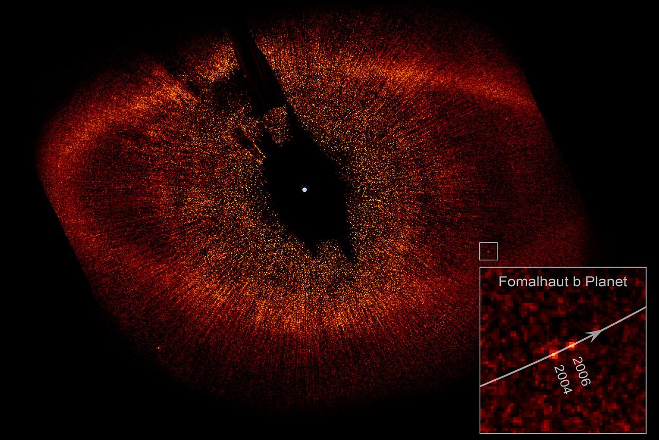 Hubble directly observes planet orbiting Fomalhaut   ESA ...