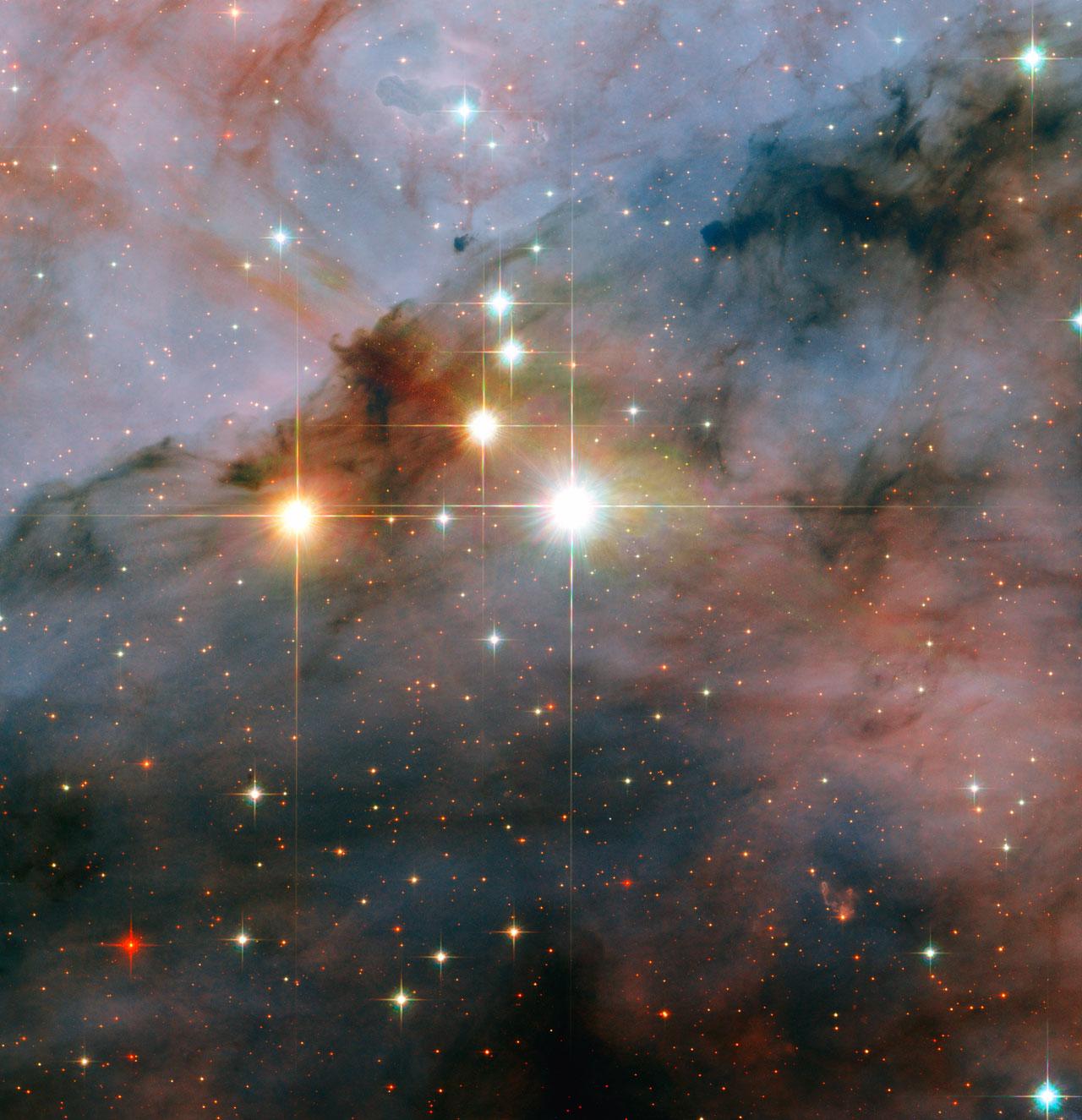 Mammoth stars seen by Hubble   ESA/Hubble