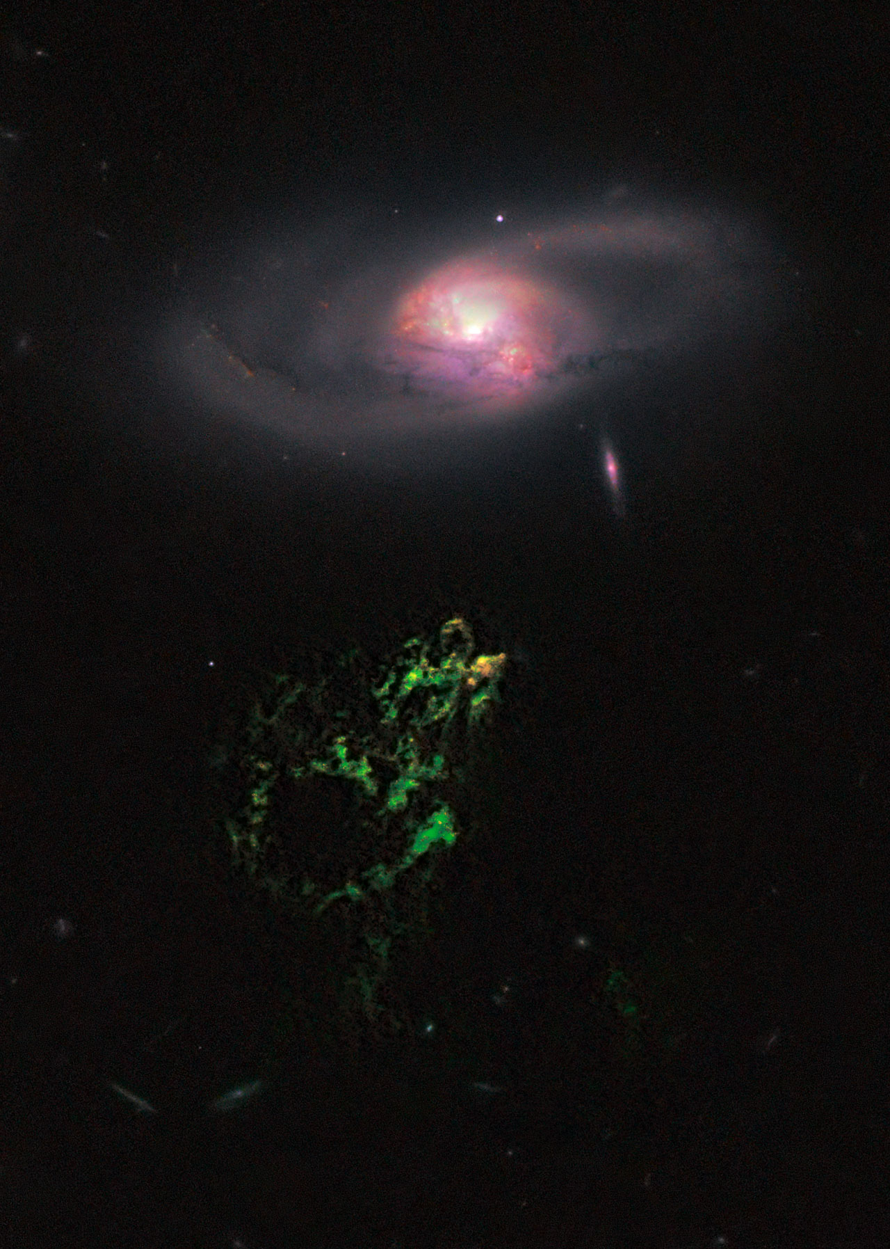 Hubble snaps image of space oddity