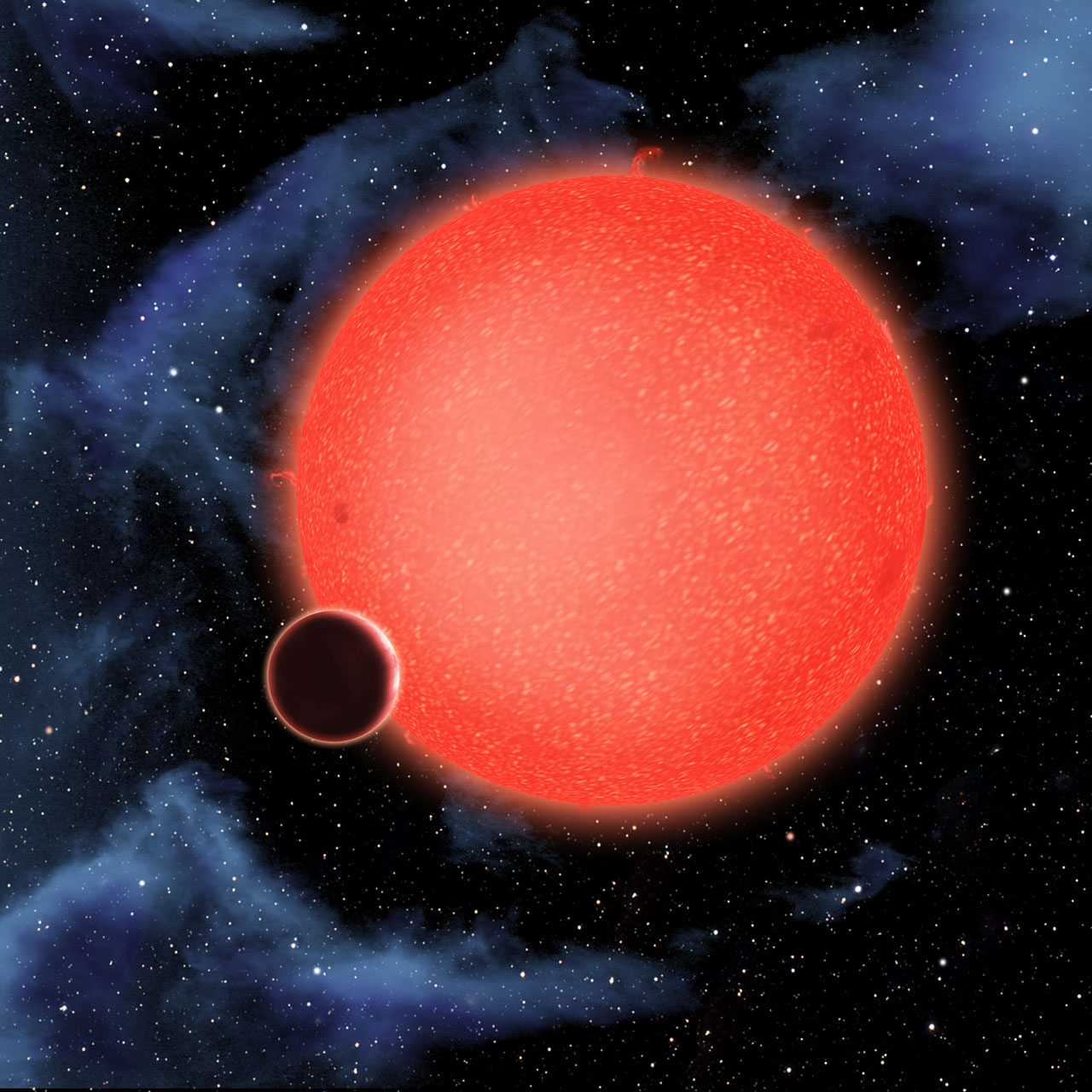 CfA: Hubble Reveals a New Type of Planet (GJ 1214b ...
