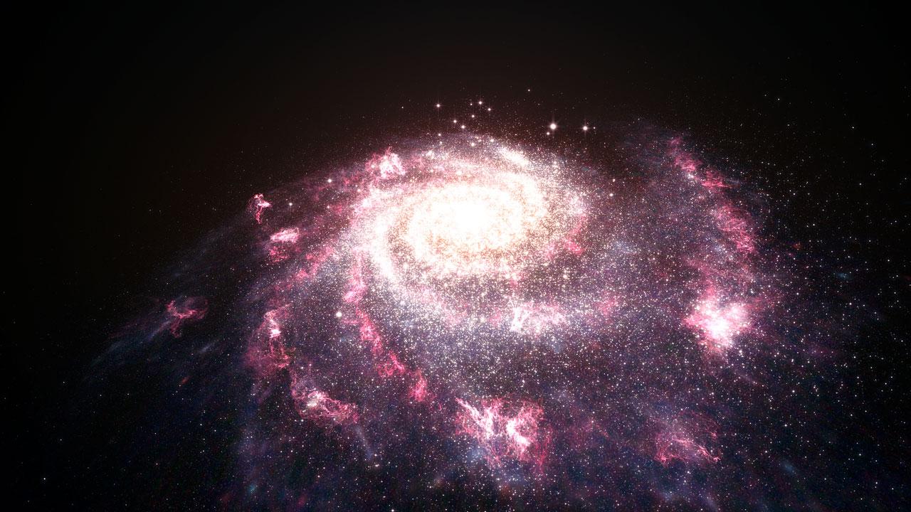 Entire galaxies feel the heat from newborn stars | ESA/Hubble
