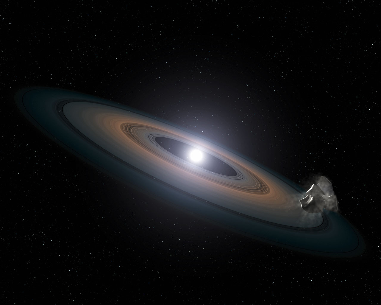 """Hubble finds dead stars """"polluted"""" with planetary debris ..."""