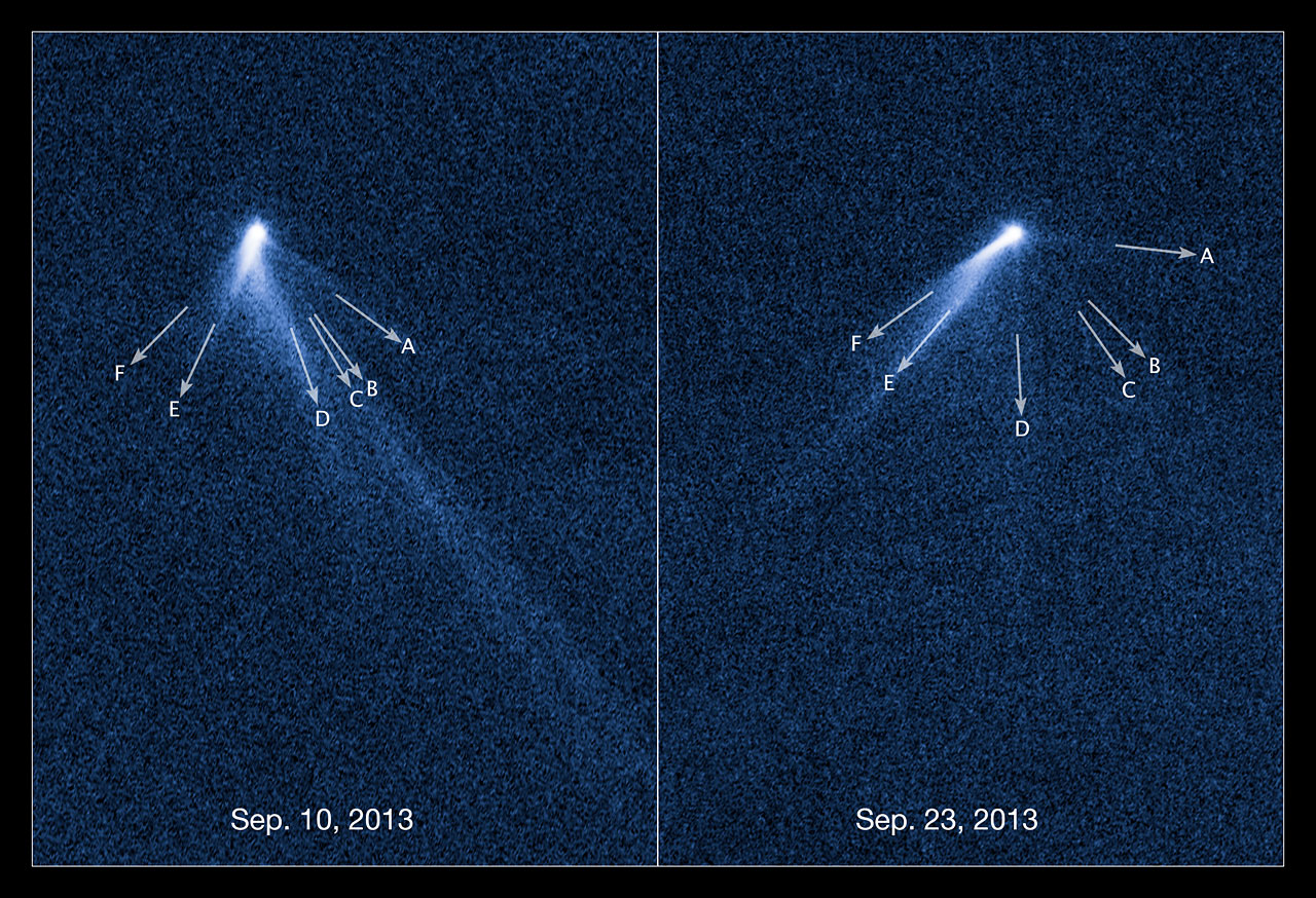 Hubble finds 6 tailed asteroid - Starship Asterisk*