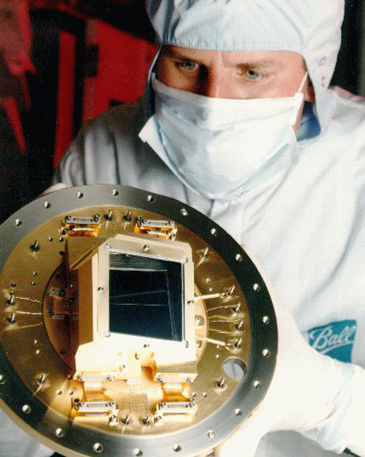 A look into one of ACS's most delicate and crucial parts - the CCD camera.