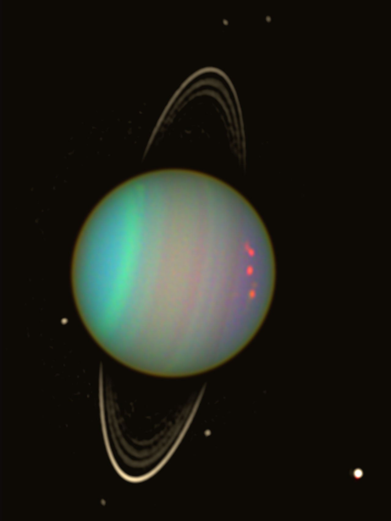 Uranus - Wider View | ESA/Hubble