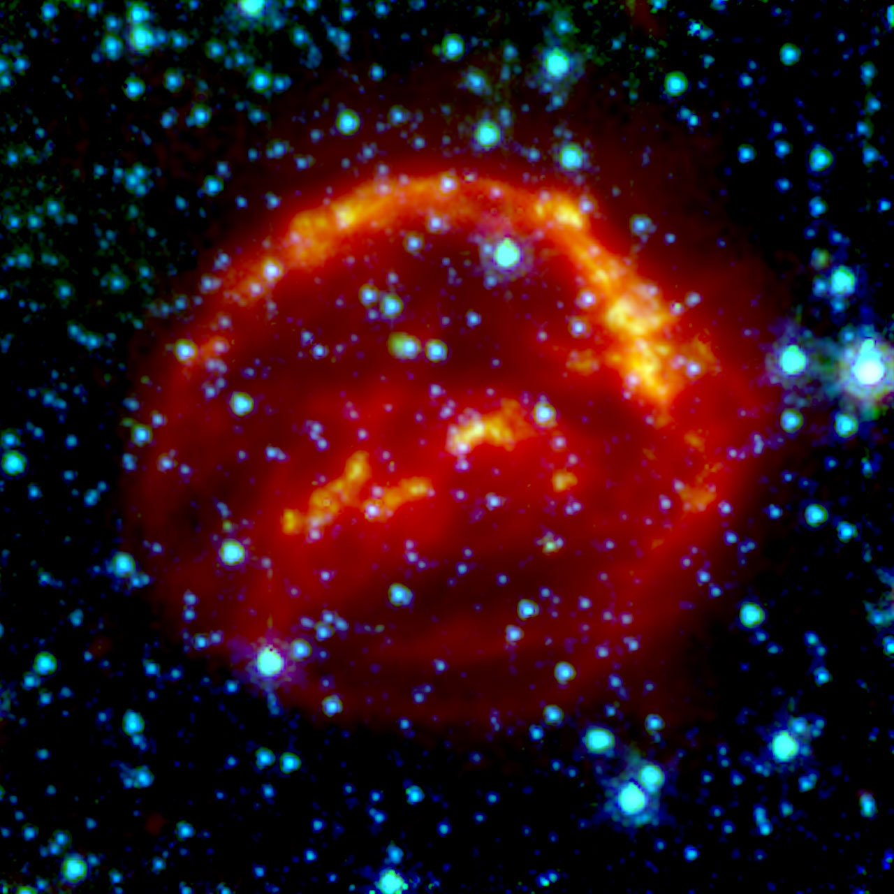 supernova first observed in 400 years - photo #17
