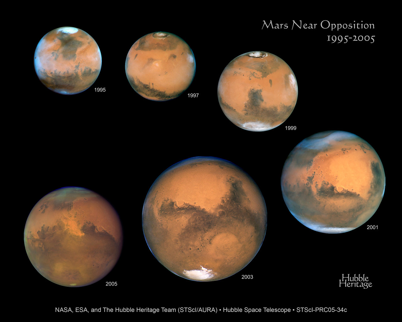 hubble images of mars - photo #22