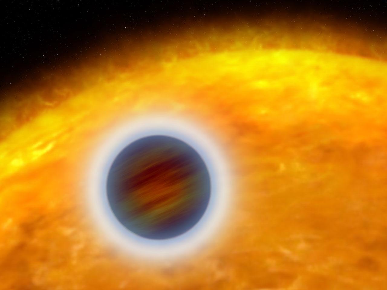 В атмосферах раскалённых экзопланет не обнаружилось диоксида титана.  Астрономия.