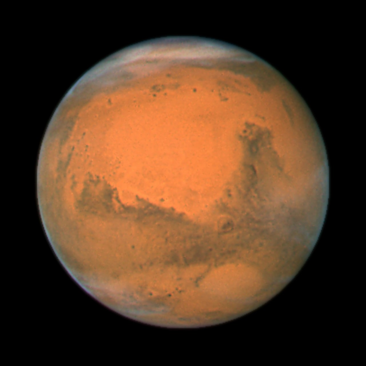 hubble telescope weird thing in mars - photo #4