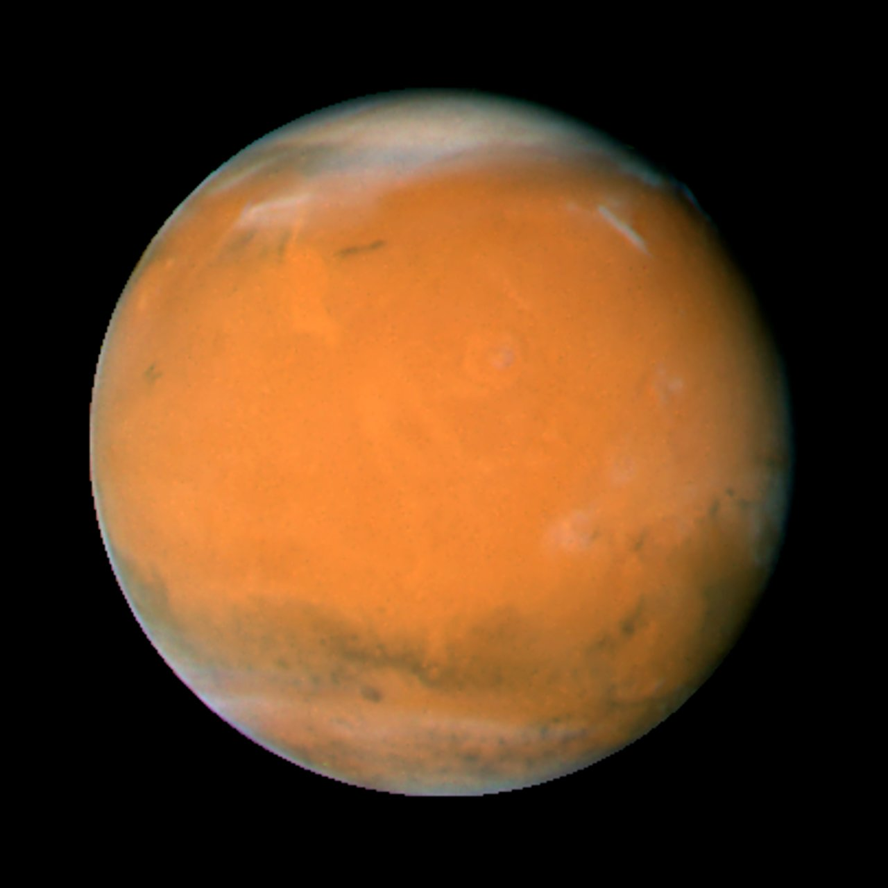 hubble telescope weird thing in mars - photo #18