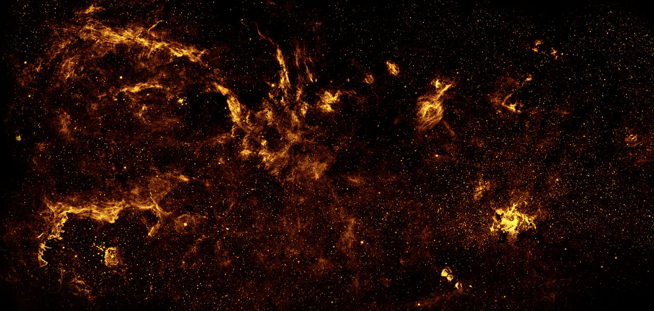 Galactic Centre Region In Near Infrared From Hubble Esa