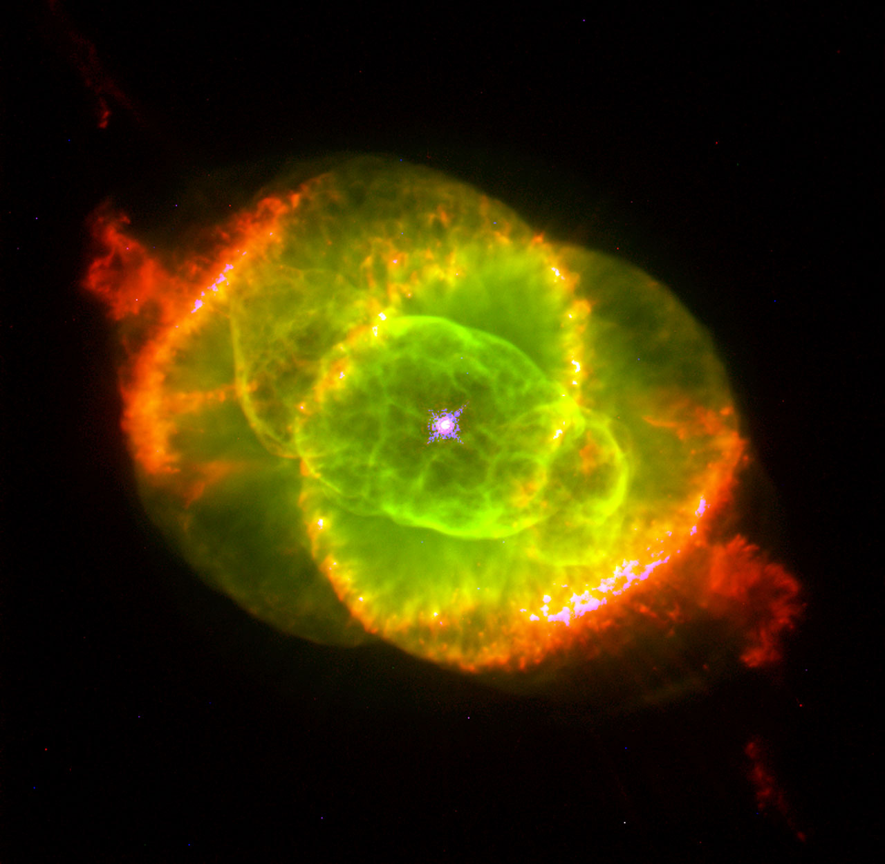 The Cat's Eye Nebula   ESA/Hubble