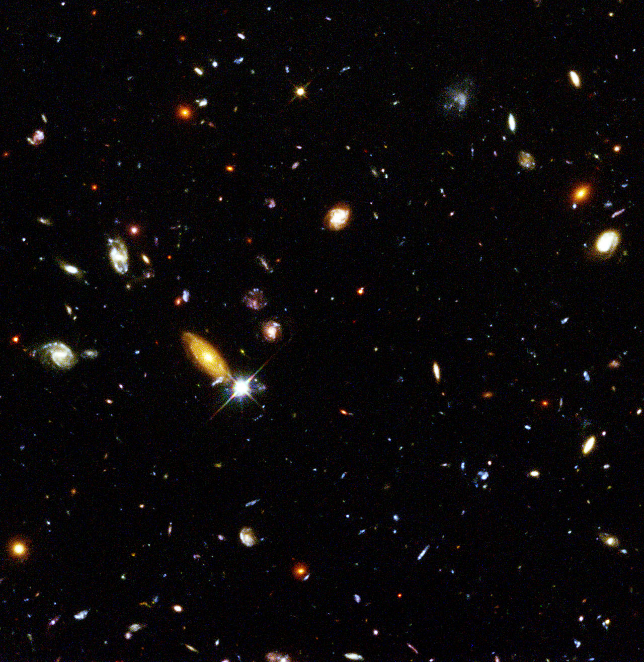 Hubble Telescope Deep Field (page 2) - Pics about space