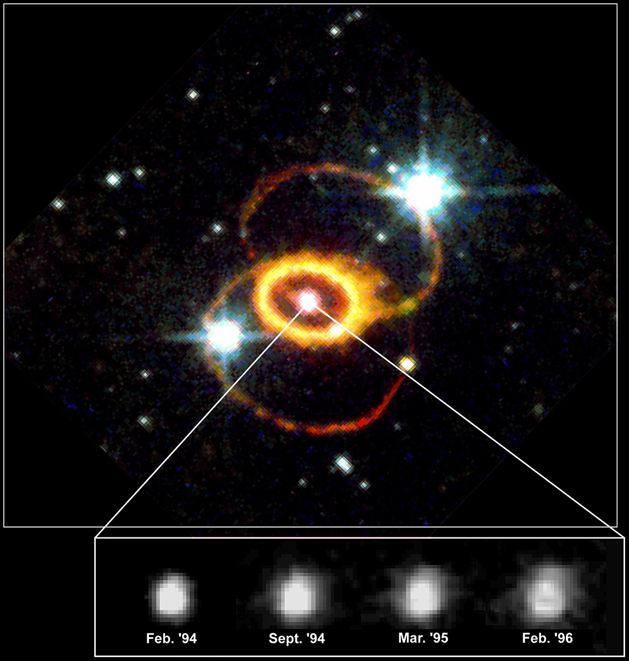 exploding supernova hubble telescope - photo #12
