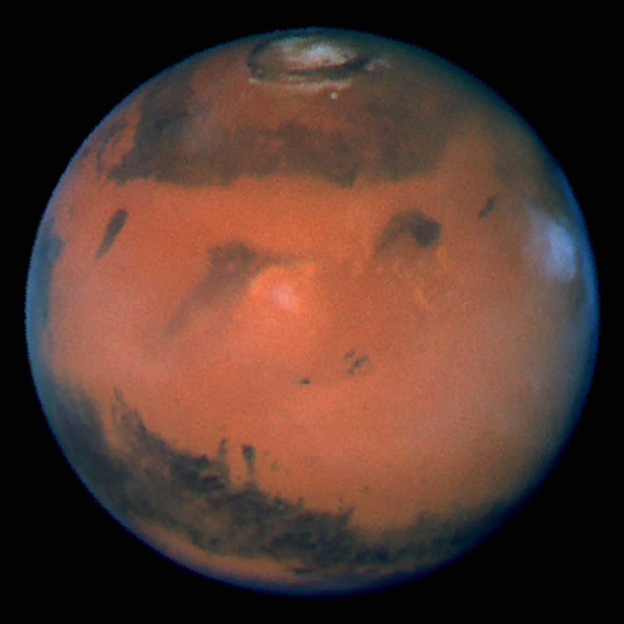 hubble telescope weird thing in mars - photo #12
