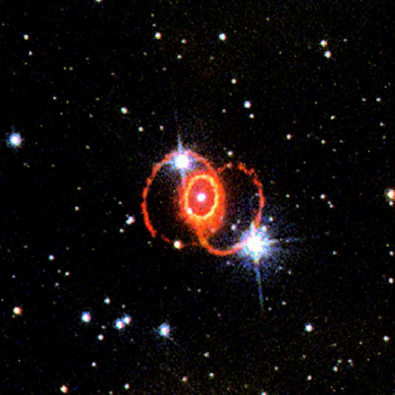 STIS Chemically Analyzes the Ring Around SN 1987a   ESA/Hubble