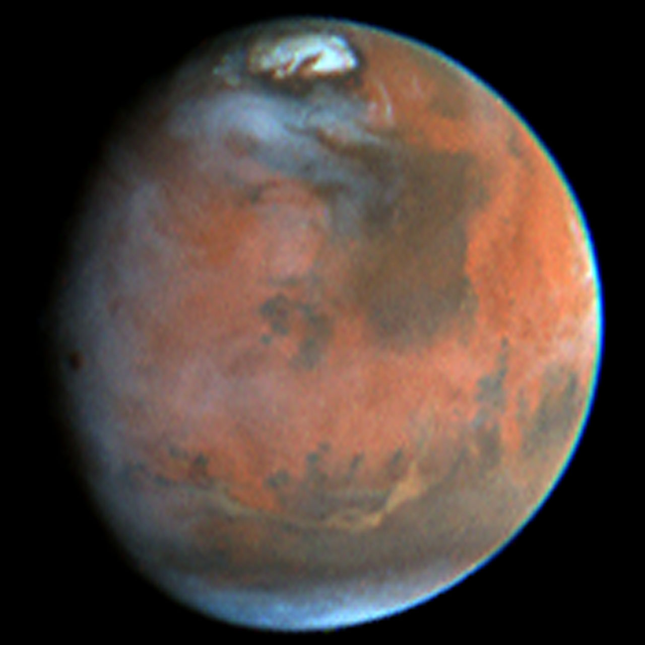 hubble telescope weird thing in mars - photo #15