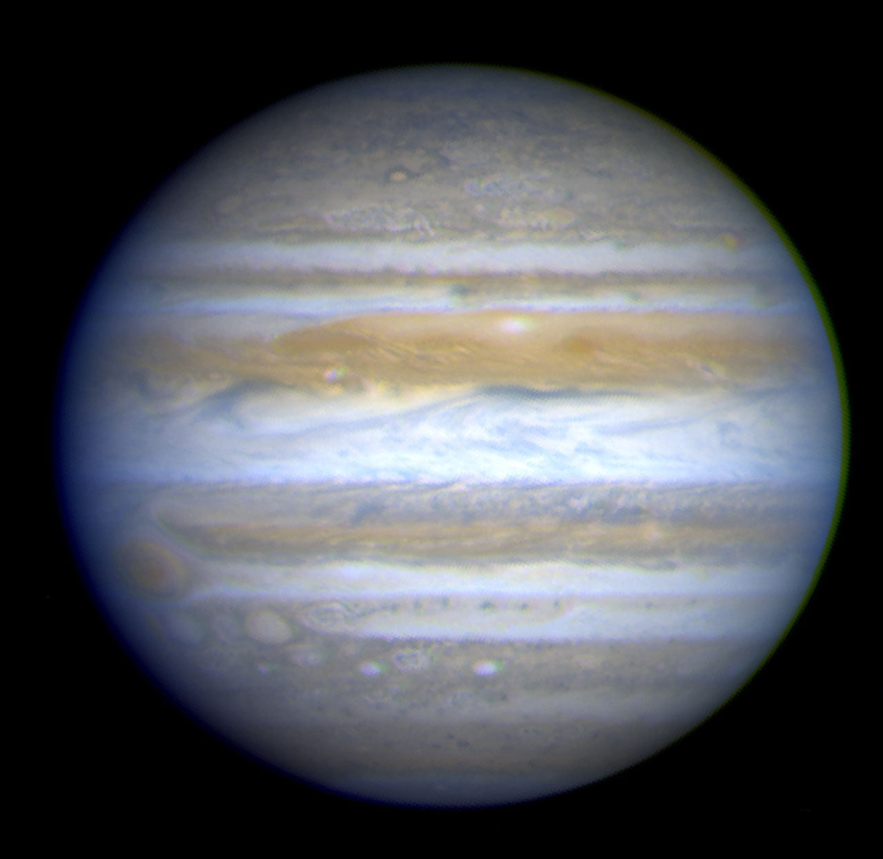 Hubble View of Jupiter | ESA/Hubble