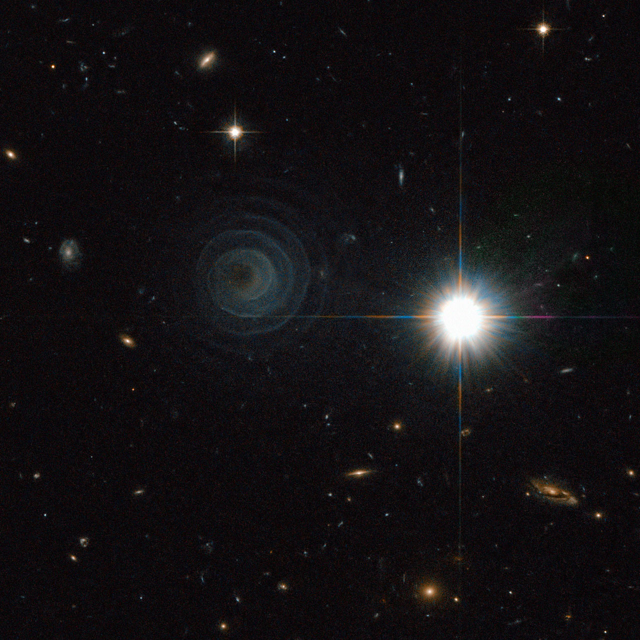 A new galaxy distance record by the Hubble Space Telescope | Watts
