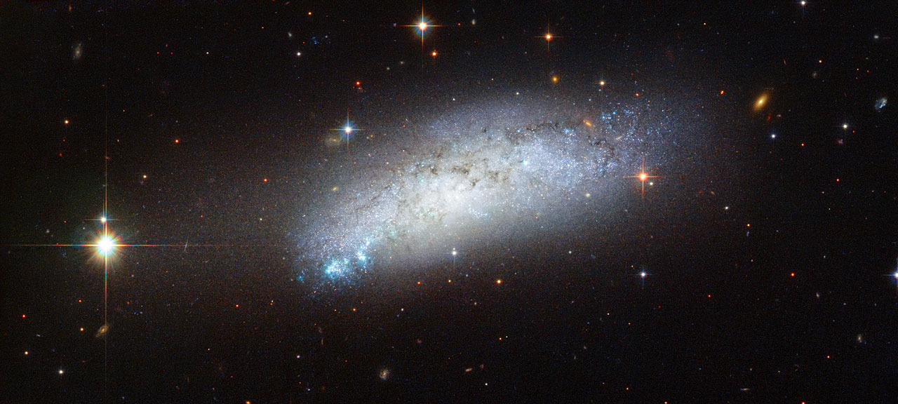 Extragalactic peculiarity