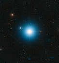 DSS image of Fomalhaut (ground-based image)