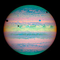 Hubble Spots Rare Triple Eclipse on Jupiter
