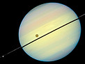 Hubble Catches Titan Chasing Its Shadow - Frame 5
