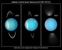 Going, Going, Gone: Hubble Captures Uranus' Rings on Edge