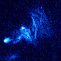 Hubble image of stellar bow shock (1 of 4)