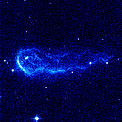 Hubble Image of Stellar Bow Shock (3 of 4)