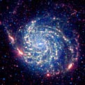 Spitzer image of M101